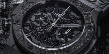 Hublot Aero Bang Sugar Skull Ceramic Carbon