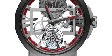 Ulysse Nardin Executive Skeleton Tourbillon Boutique