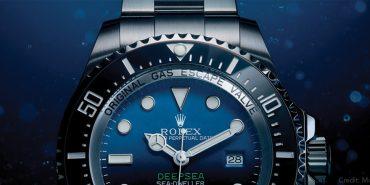 Rolex Oyster Perpetual Date_Sea Dweller Deepsea_116660_Automatic_Steel case_Steel bracelet_Men's watch/unisex_3135 caliber_Ceramic bezel_Sapphire glass_blue dial_No numerals