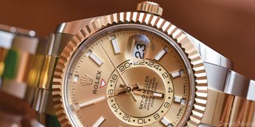 Rolex Oyster Perpetual_Sky Dweller_326933_Automatic_Gold/Steel case_Gold/Steel bracelet_Men's watch/unisex_Yellow gold bezel_Sapphire glass