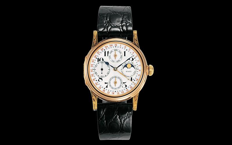 Patek Philippe 97975 First wristwatch with perpetual calendar